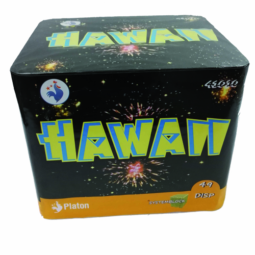 bateria hawaii de 36 disparos